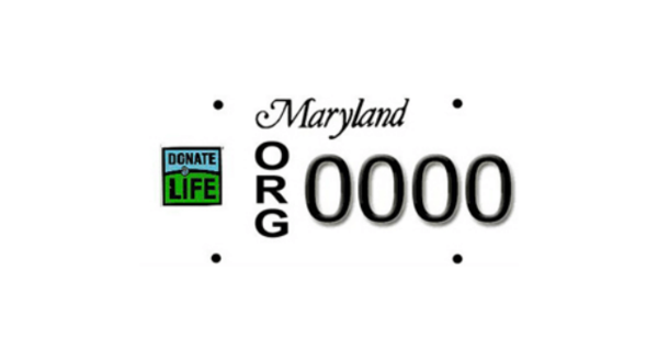Get A Donate Life License Plate Form - The Living Legacy Foundation